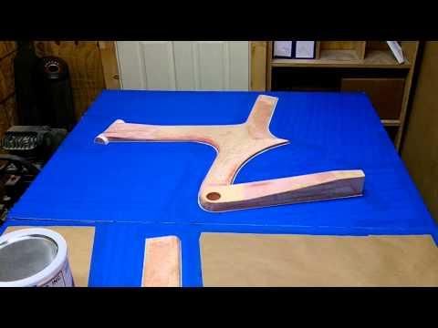 Z Frame Bike: Video 5 of 13- Building the Plug Mold