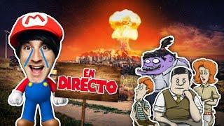 MARIO Y LA BOMBA NUCLEAR! #DirectoLuzuGames - [LuzuGames]