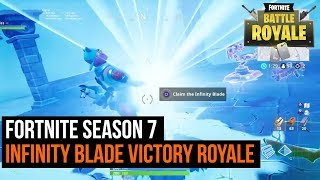 Infinity Blade Gameplay Victory - Fortnite Season 7