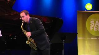 DANIEL DELGADO ALONSO – FIRST ROUND – II ANDORRA INTERNATIONAL SAXOPHONE COMPETITION 2015