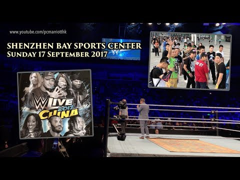 WWE Live Event in Shenzhen, China - 17-09-2017 (Unedited, Uncut Footage) 4K30