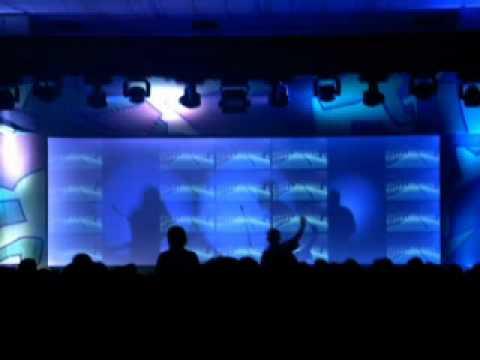 Gorillaz - Clint Eastwood (Ed Case Sweetie Irie Re-fix) (Live at Edinburgh)