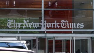 Why is Donald Trump suing The NY Times over an opinion article?