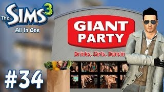 The Sims 3: All In One - Grocery Store Nightclub - Part 34