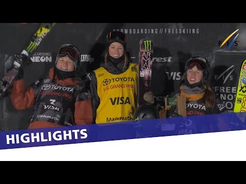 Brita Sigourney crowned victorious in Mammoth Mtn. Ski Halfpipe | Highlights