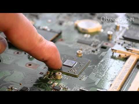 Как починить видеочип на ноутбуке
