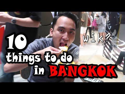 10 HAL HARUS DILAKUKAN di BANGKOK