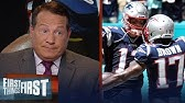 Patriots are going to be tough to beat with Josh Gordon and AB — ManginiNFLFIRST THING FIRST