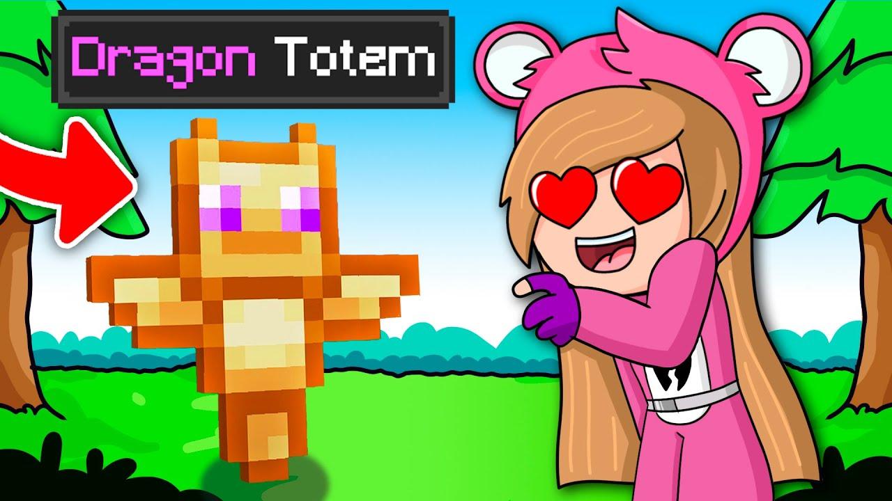 Minecraft pero Hay Totems Personalizados... 😱