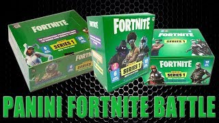 Panini FORTNITE TRADING CARDS SERIE 1 | DISPLAY vs. MEGA BLASTER vs. FAT PACKS | Unboxing