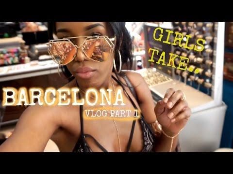 GIRLS TAKE BARCELONA VLOG PART 1