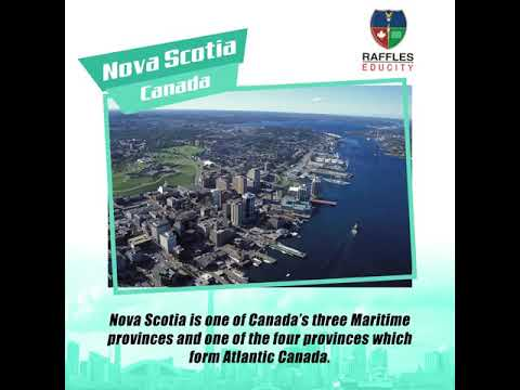 Let us tell you about Nova Scotia, Canada today!