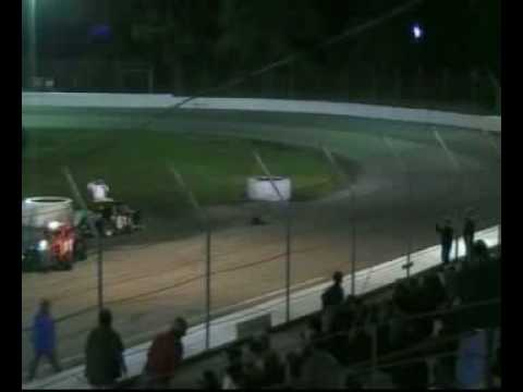 Lake County Speedway Crash 5-15-2010