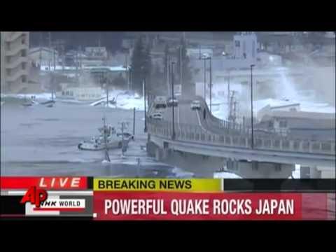 Japan Tsunami Live Footage 11 3 2011 Youtube