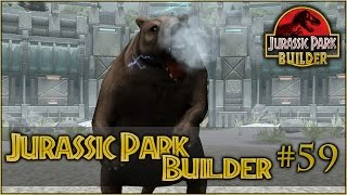 Jurassic Park Builder || BONE-CRUNCHING BITE OF THE SARKASTODON || Episode #59