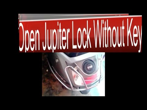 Unlock jupiter in 5 sec | Open Jupiter Lock without Key In 5 SECOND