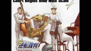 Turnabout Jazz Soul - Track 1 - Ace Attorney - Court Begins Blue Note Scale