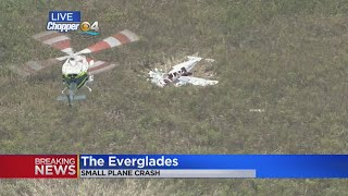 Small Plane Crashes In The Everglades