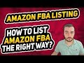 MAKING PERFECT AMAZON FBA PRODUCT LISTINGS - WITH EXAMPLES!