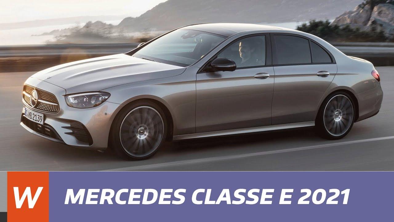 Merecedes Classe E 2021 Les Premieres Infos Youtube