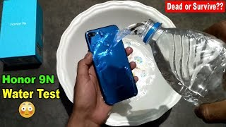 Water Test Honor 9N - Will it Survive or Dead??