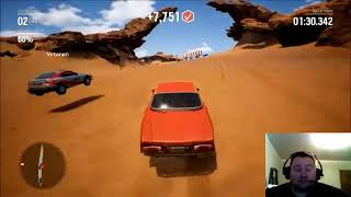 Gravel Abarth 124 Rally Test Drive Gameplay Reaction