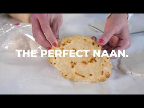 Grain Free Naan Bread (No oven required, Vegan option)