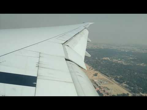 Emirates flight (EK309), from Beijing to Dubai, landing in Dubai