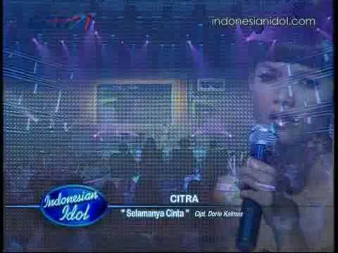 Citra - Selamanya Cinta [ Spektakuler 8 ] Indonesian Idol 2010 / 02-07