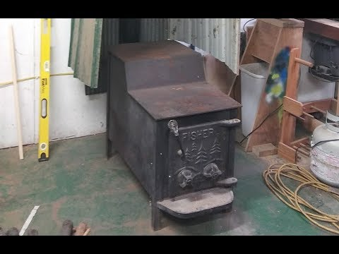 Installing My Shop Woodstove