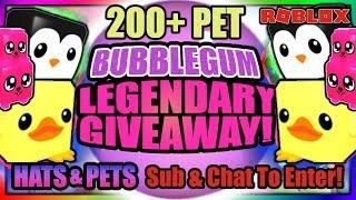 🎀 Bubblegum Simulator PET GIVEAWAY 😱 TOY LAND Update #13🎀 Roblox Live Event (Stream)
