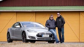 Markku Alén & Tesla Model S P85D – Osa 1 (Teknavi 2015)