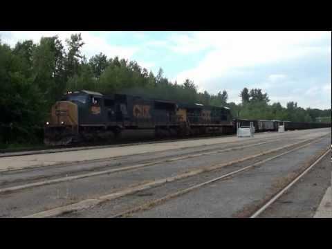 HiDef: CP 618 Sludge Train, Saratoga Springs, N.Y. 7-7-12.