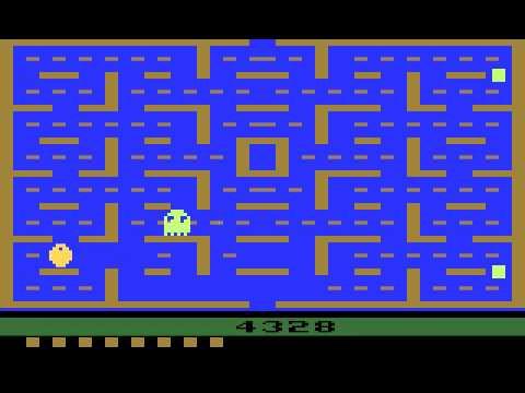 Atari 2600 Longplay [002] Pac-Man