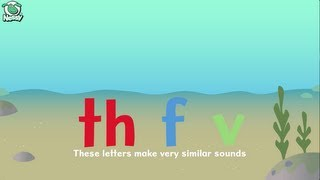 nessy spelling strategy th f and v