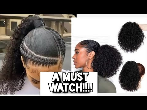 Packing Gel Hairstyles With Weave On Natural Hair Packing Gel Hairstyles 2020 Youtube