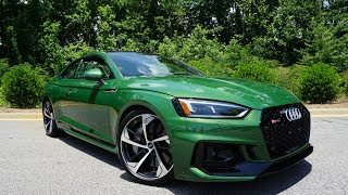 2018 Audi RS5: Start Up, Exhaust, Test Drive and Review