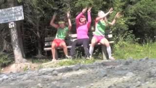 Biathlon Belarus music video (Domracheva, Duborezova, Skardino)
