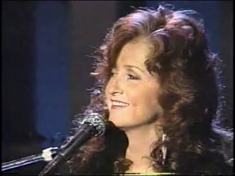 "Bonnie Raitt on Later & Late Night, ""Nick of Time,"" October 1989"