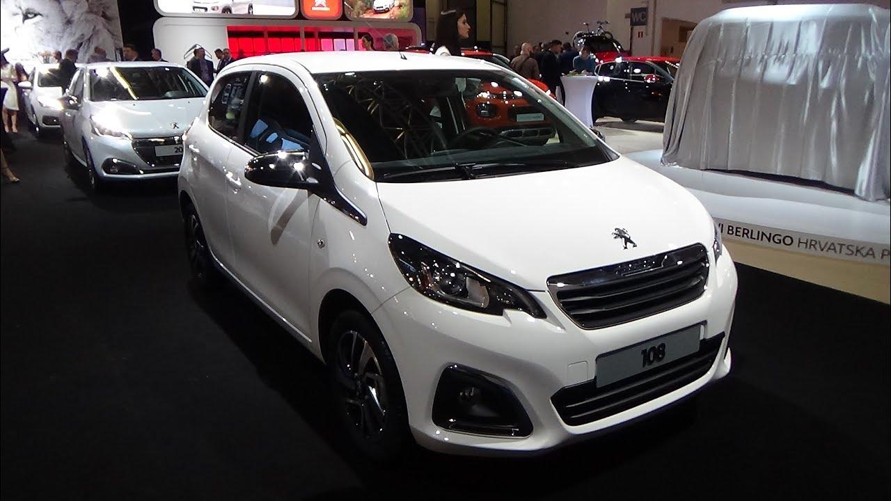 Download 2018 Peugeot 108 1.0 VTi 68 Allure - Exterior and Interior - Zagreb Auto Show 2018