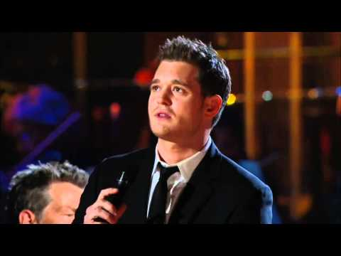 Michael Buble and Blake Shelton - Home [HD]