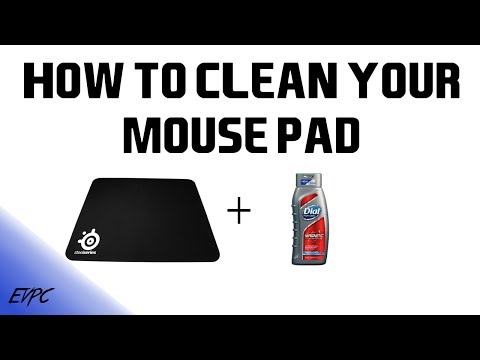 How To Clean Your Mousepad
