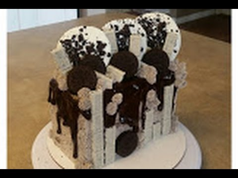 OREO COOKIES N CREAM CAKE Cake Decorating