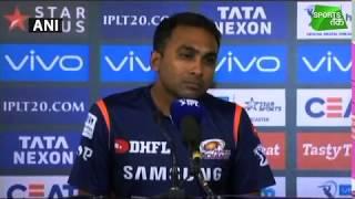 #IPL2018: M.Jayawardene Burst Out On Hardik Pandya | Sports Tak