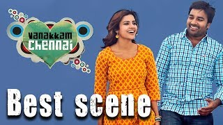 Vanakkam Chennai - Tamil Movie | Intro Scene | Shiva | Priya Anand | Santhanam | UIE Movies