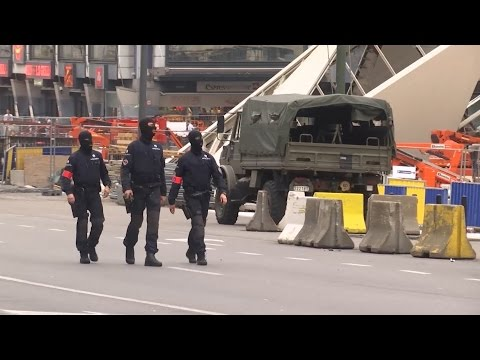 Brussels Shopping Centre On Lockdown After Bomb Scare