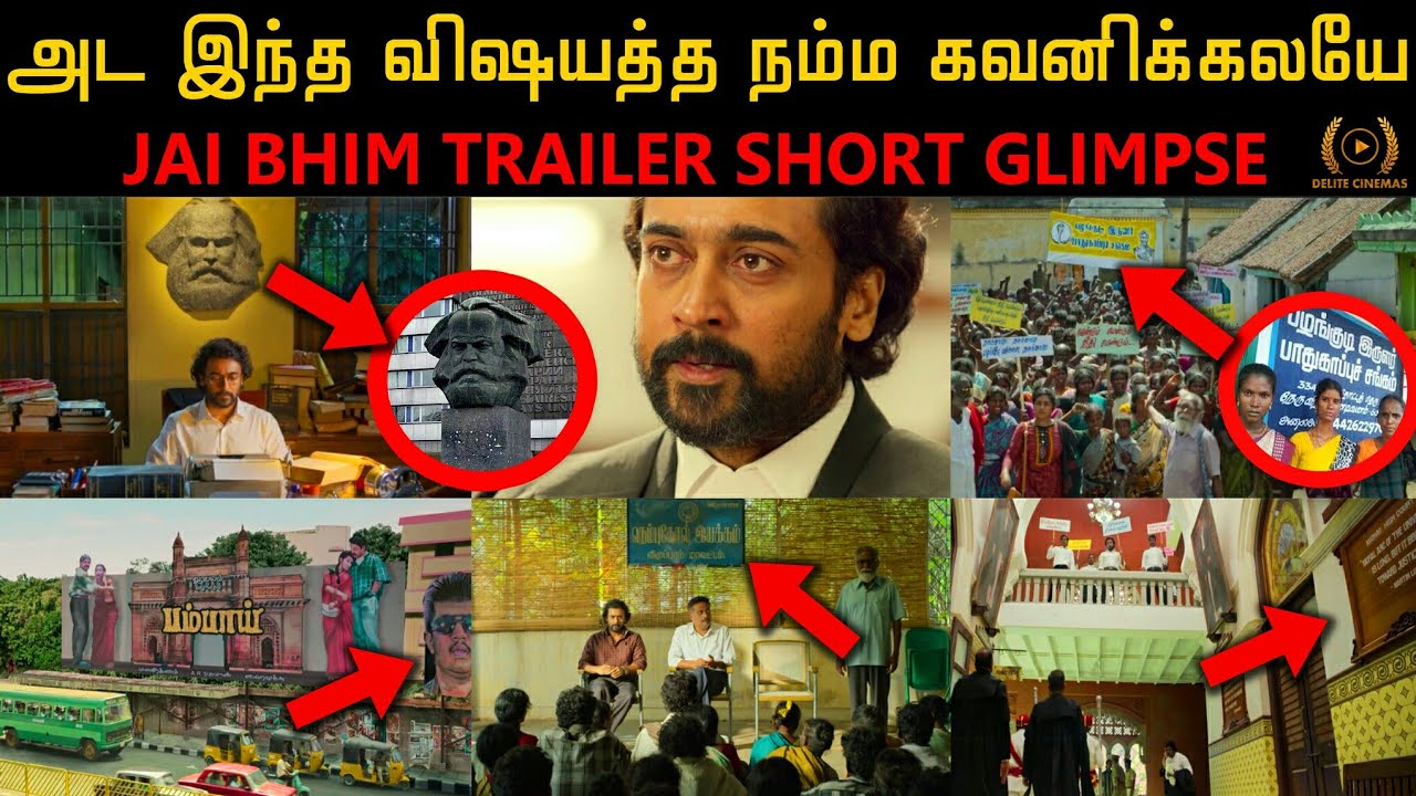 """JaiBhim"" Official Trailer Short Glimpse l Actor Suriya l T.J Gnanavel l By Delite Cinemas"