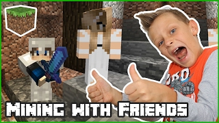 Mining For Diamonds With Friends / Minecraft Realm