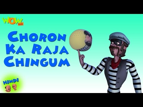 Choron Ka Raja Chingam - Motu Patlu in Hindi - 3D Animation Cartoon for Kids -As on Nickelodeon thumbnail