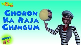 Choron Ka Raja Chingam - Motu Patlu in Hindi - 3D Animation Cartoon for Kids -As on Nickelodeon